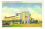1937 University of Miami CORAL GABLES Florida Postcard