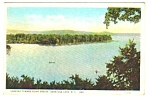 1930s SARATOGA LAKE, New York Postcard