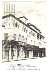 1975 SAKS FIFTH AVENUE, Palm Beach Florida Postcard