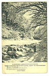 1950 WHITE MOUNTAINS, New Hampshire Postcard