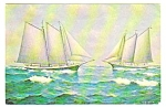 Click here to enlarge image and see more about item MPC121806E5: 1962 Mattie & Mercantile SCHOONERS, CAMDEN Maine PC