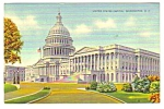 1941 WASHINGTON D.C. U.S. CAPITOL Postcard