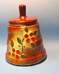 Click here to enlarge image and see more about item MPOT101507J1: Vintage 1950s POTTERY SUGAR Container for the Counter