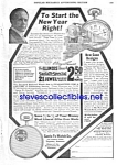 Click here to enlarge image and see more about item MPW031207D1: 1920 SANTA FE Illinois Pocket Watch Ad