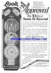 1926 SANTA FE Special Pocket Watch Ad