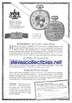Click here to enlarge image and see more about item MPW122106D1: 1926 BURLINGTON Pocket Watch Ad
