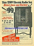Click here to enlarge image and see more about item MRA030507D3: 1914 PACKARD 8 Tube RADIO Magazine Ad