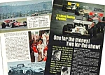 Click here to enlarge image and see more about item MRC032806A3-1: 1972 ROAD RACING PREVIEW-AUTO RACING Mag Article