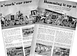 1967 OREGON TILLAMOOK COUNTY FAIR RACING Mag. Article