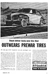 Click here to enlarge image and see more about item MRC050406C8: 1946 JIMMIE LYNCH STUNT DRIVER Tire Mag. Ad