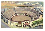 Click here to enlarge image and see more about item MSO112706F5: 1958 BULL RING Coca Cola Advertising Postcard OldMexico