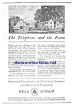 Click here to enlarge image and see more about item MTEL121806A2: 1930 AT&T TELEPHONE Phone Ad