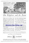 Click here to enlarge image and see more about item MTEL121806B6: 1926 AT&T TELEPHONE Phone Ad