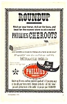 Click here to enlarge image and see more about item MTO032806A2: 1959 PHILLIES CHEROOTS CIGAR Tobacciana Ad