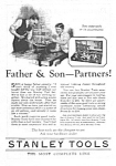 Click here to enlarge image and see more about item MTOOL121806B7: 1926 STANLEY CHEST of TOOLS Ad