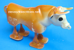 Click here to enlarge image and see more about item MTY1125A5-2007: Toy & Brochure: 1950s MARX BULL RAMP WALKER Lot