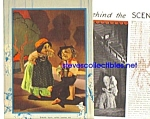 1934 BEHIND THE SCENES Puppetry Mag. Article