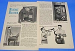 Click here to enlarge image and see more about item MU0105A1: 1957 Hardie Sanders MUSICAL MUSEUM NY Magazine Article