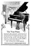 1925 VOSE PIANO Music Room Ad
