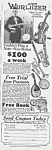 Click here to enlarge image and see more about item MU0525AA6: 1928 Wurlitzer VIOLIN/MANDOLIN+ Music Room Ad