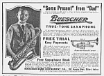 Click here to enlarge image and see more about item MU0529CC2: 1922 SAXOPHONE Music Room Ad L@@K!