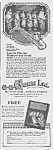 Click here to enlarge image and see more about item MU0529CC3: 1922 CONN SAXOPHONE Music Room Ad