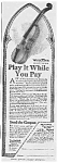 Click here to enlarge image and see more about item MU0628AA1: 1918 Wurlitzer VIOLIN Music Room Ad