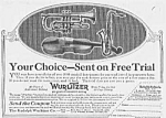 Click here to enlarge image and see more about item MU0628AA2: 1918 SAXOPHONE+ Music Room Ad L@@K!