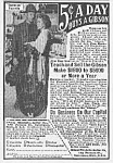 Click here to enlarge image and see more about item MU0628AA4: 1918 GIBSON GUITAR/MANDOLIN Music Room Ad