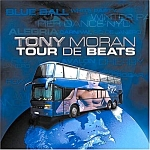 Click here to enlarge image and see more about item MU0830A1-2008: Music 2 CD Set - Tour de Beats - TONY MORAN