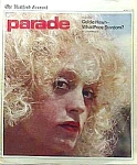 Click here to enlarge image and see more about item MV0216AA1: 1976 GOLDIE HAWN Cover Parade Magazine