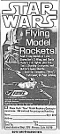 Click here to enlarge image and see more about item MV0216AA3: 1978 STAR WARS Model Rocket Ad!!