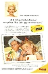 Click here to enlarge image and see more about item MV0304C1: 1959 ROSEMARY CLOONEY Kodak Film Ad