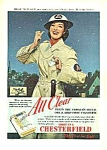 Click here to enlarge image and see more about item MV0311B1: 1942 ROSALIND RUSSELL/Air Warden Ad