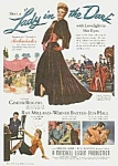Click here to enlarge image and see more about item MV0614BB1: 1944 GINGER ROGERS/RAY MILLAND Movie Ad