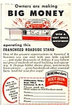 Click here to enlarge image and see more about item MVE032206C6: 1950 RICHARDSON ROOTBEER Stand Magazine Ad