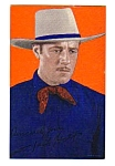 Click here to enlarge image and see more about item MWE112706F9: 1940s JACK HOLT COWBOY Color Penny Arcade Card
