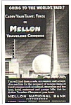 1939 Mellon National Bank NY Worlds Fair Magazine Ad