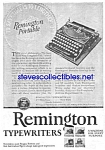 Click here to enlarge image and see more about item MWR122106C4: 1926 REMINGTON PORTABLE Typewriter Ad