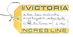 Click here to enlarge image and see more about item OC0501AA3: 1965 Incres Line MS VICTORIA OCEAN LINER Tags
