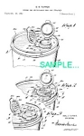 Click here to enlarge image and see more about item PAT0214EE3: **Patent: 1950s TUPPERWARE SEAL/STRAINER