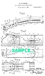 Click here to enlarge image and see more about item PAT0215EE6: Patent: 1930s MARX STREAMLINED Toy TRAIN