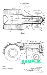 Click here to enlarge image and see more about item PAT0220AA1: Patent Art: 1939 JOHN DEERE TRACTOR - matted