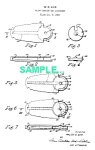 Patent: 1950s ZIPPO LIGHTER Flint Carrier