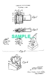Click here to enlarge image and see more about item PAT0220AA5: 1950s ZIPPO LIGHTER Patent-Matted