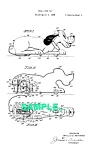 Click here to enlarge image and see more about item PAT0222AA5: Patent: 1930s MARX PLUTO ROLLOVER Windup