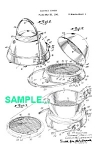 Click here to enlarge image and see more about item PAT0222CC5: Patent: 1940s MANNING BOWMAN Art Deco Cooker