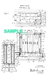Click here to enlarge image and see more about item PAT0222CC7: Patent: 1920s MANNING BOWMAN Toaster