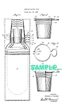 Click here to enlarge image and see more about item PAT0222CC9: Patent: 1920s MANNING BOWMAN Nested Cups