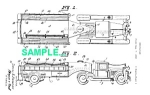 Click to view larger image of Patent Art: 1930s CURTISS AEROCAR Firetruck (Image1)